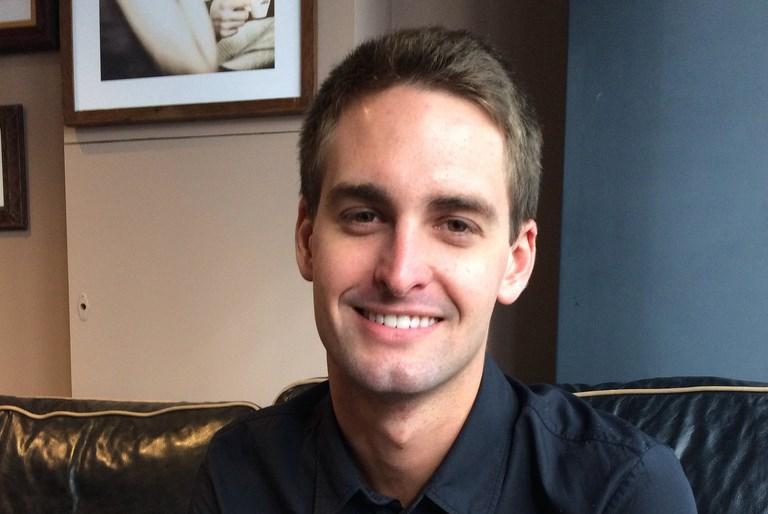 Основатель Snapchat Эван Шпигель, фото cellanr c Flickr