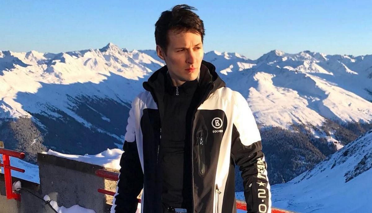Павел Дуров, фото из его Instagram