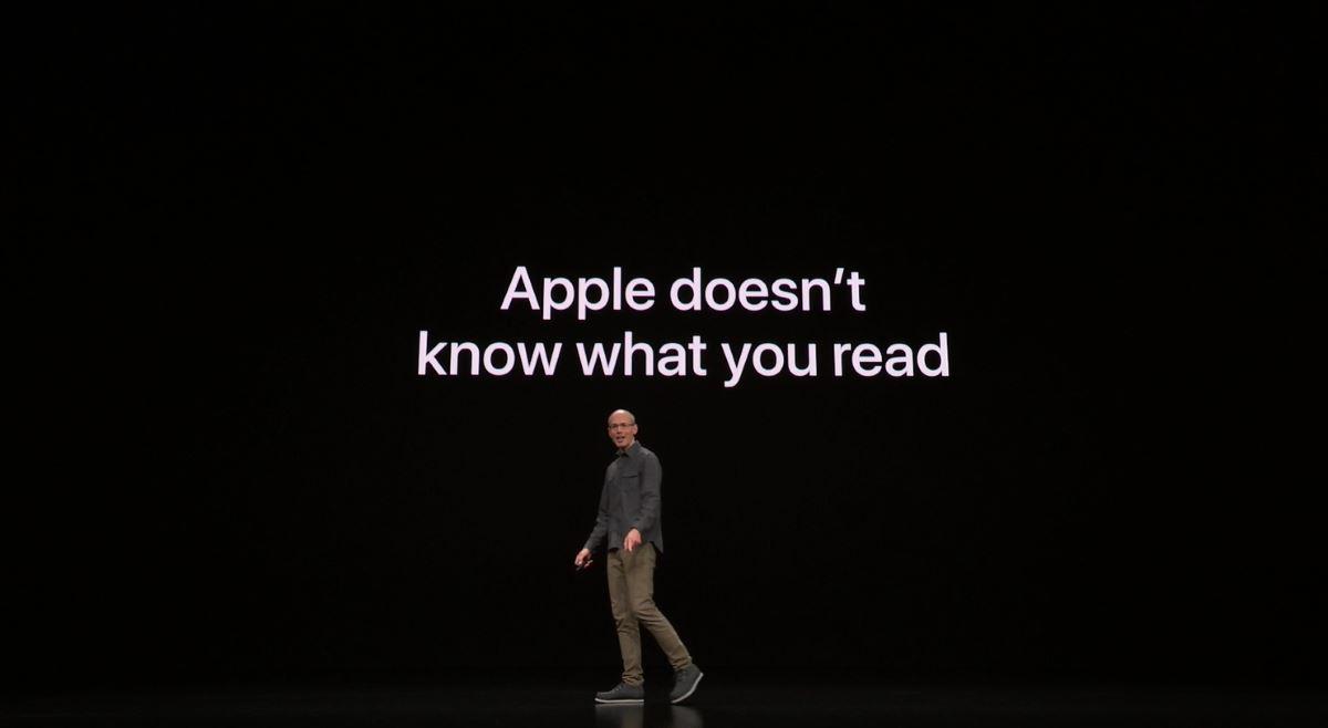 Кадр из презентации Apple