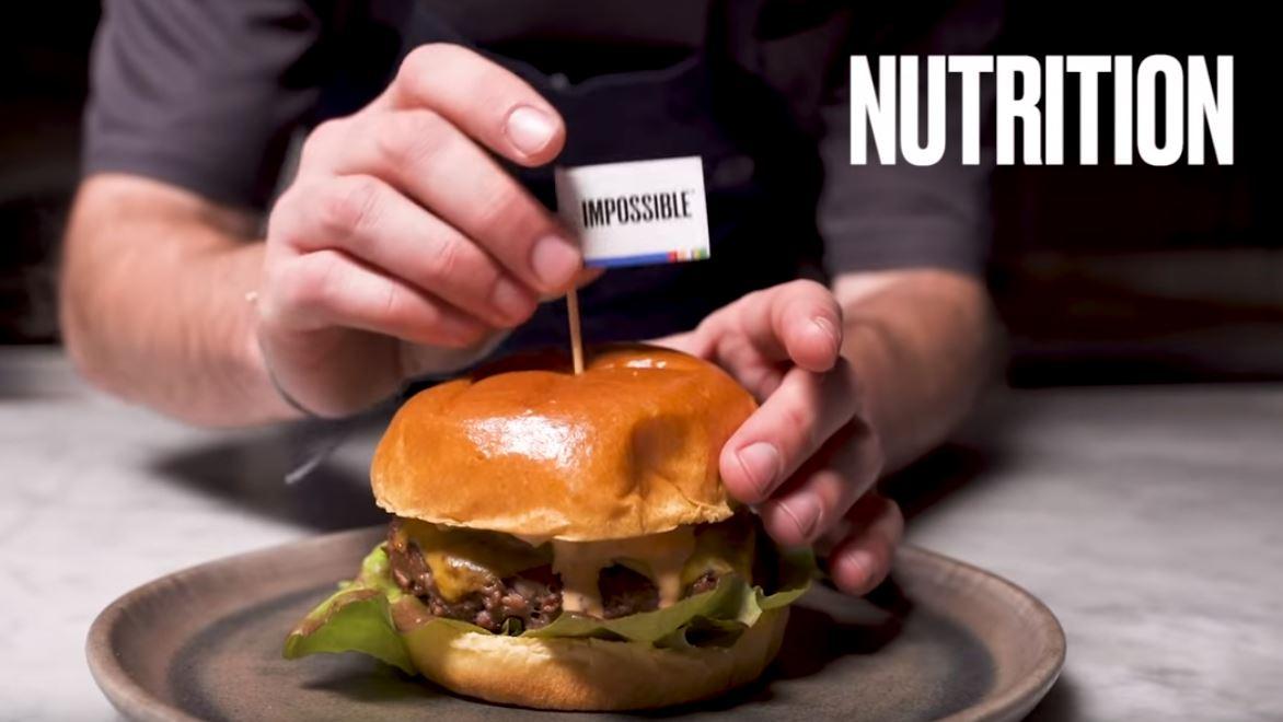 Кадр из рекламного ролика Impossible Foods