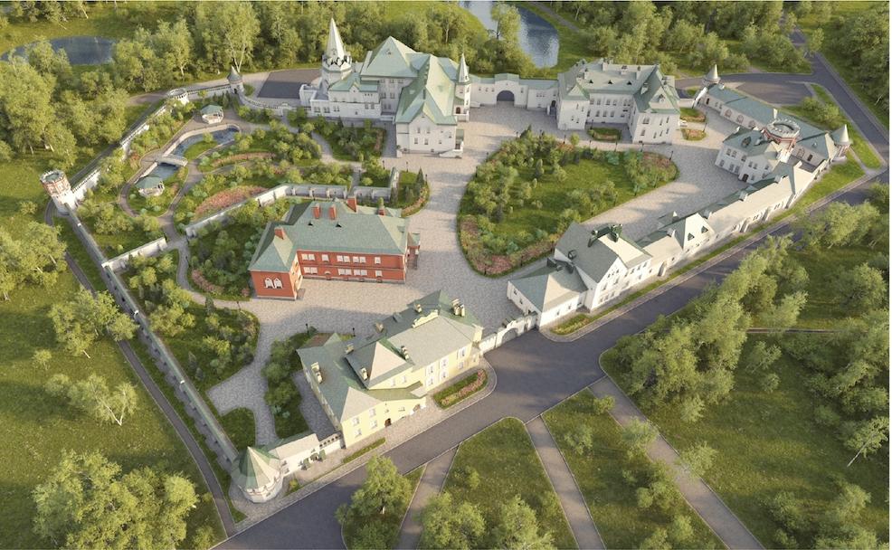«Умный дом» для патриарха: для главы РПЦ строят резиденцию стоимостью 2,8 млрд рублей под Петербургом