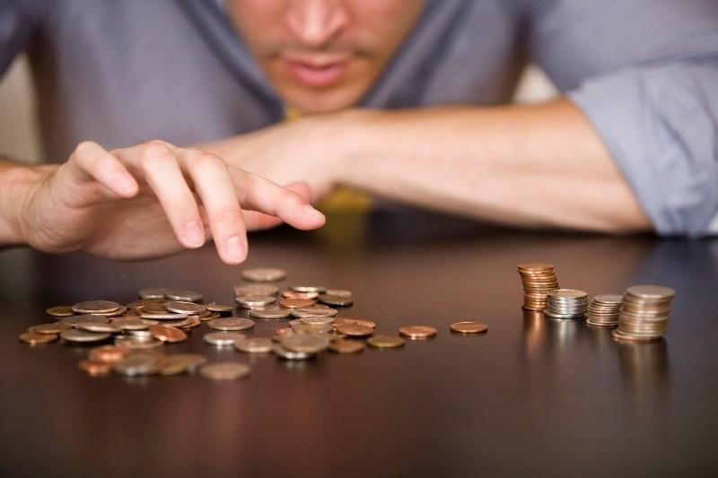 Картинка нехватки денег