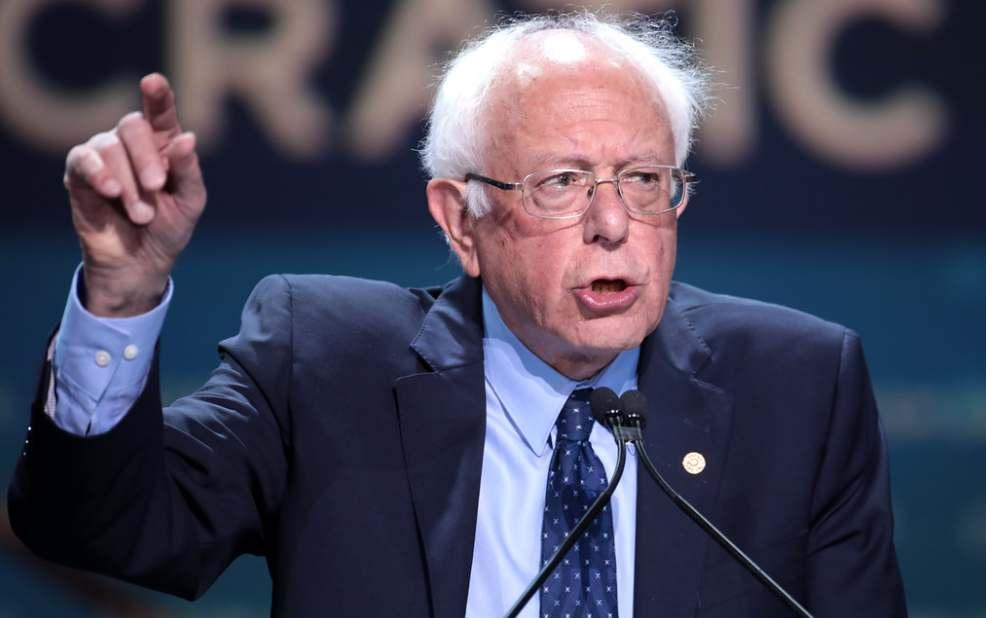Кандидат в президенты США Берни Сандерс